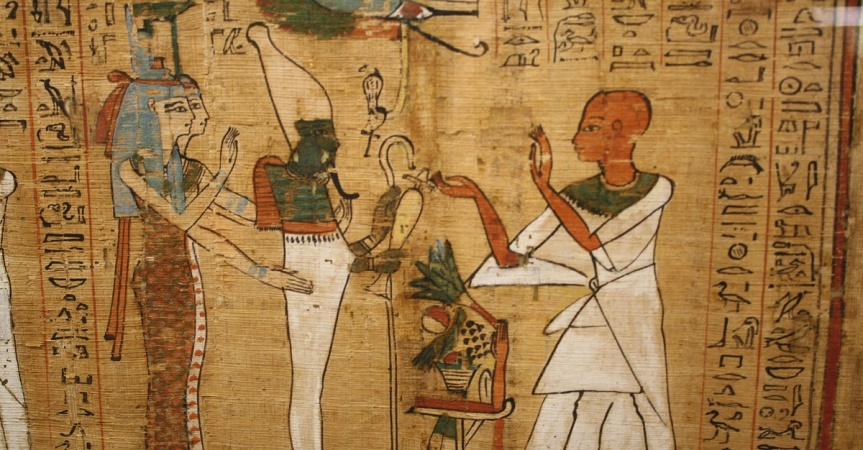 The Egyptian Book of the Dead and Psalm 8